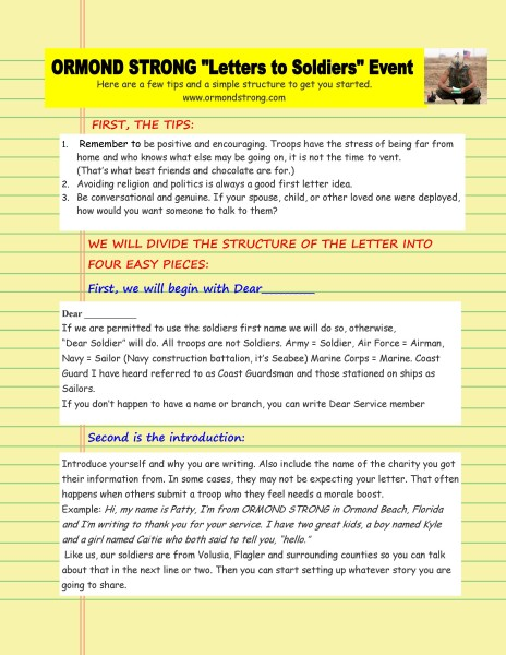 How to write a letter to a deployed soldier-page 1 – www
