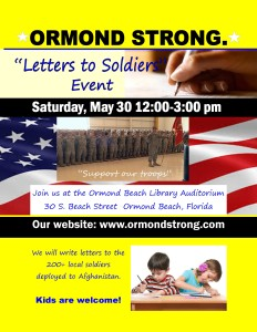 letters for soldiers